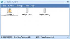 SSH Tunnel Client 4.0 Screen shot