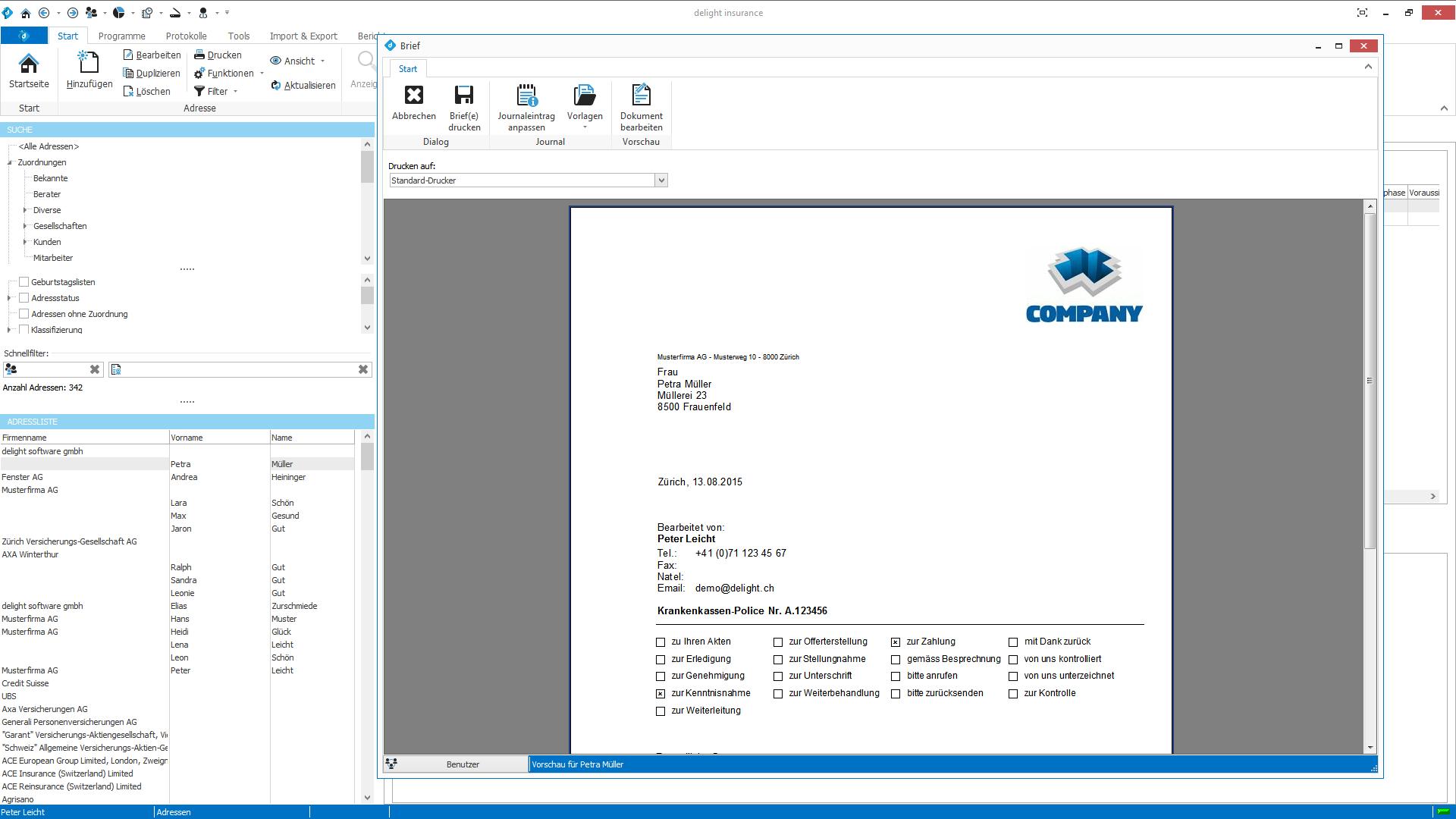 Maklersoftware|CRM für Versicherung Makler|Software für ...